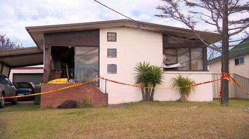 One man is dead and his son is critical after the house fire at Mt Warrigal, south of Wollongong.