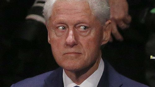 Former US president Bill Clinton was deposed while in office. (AP)