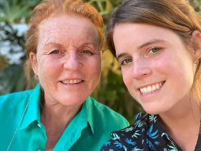 Sarah Ferguson and Princess Eugenie