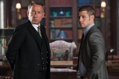 Sean Pertwee (left) plays Alfred Pennyworth, Bruce Wayne's butler and guardian.