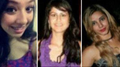 Three of Gomes da Rocha's alleged victims. (Supplied)