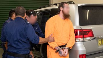 The 24-year-old is accused of plotting a terror attack from within Goulburn Supermax prison.