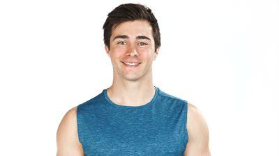 Jake Baker as seen on Australian Ninja Warrior 2020.