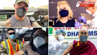 New 'vaxxies' trend takes over social media.