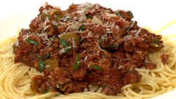 Favourite spaghetti bolognaise