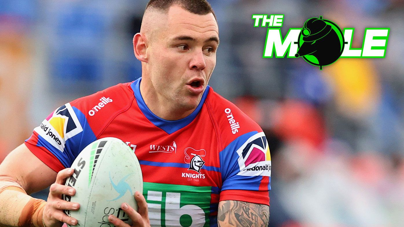 Newcastle's David Klemmer could be on the move for the 2022 NRL season.