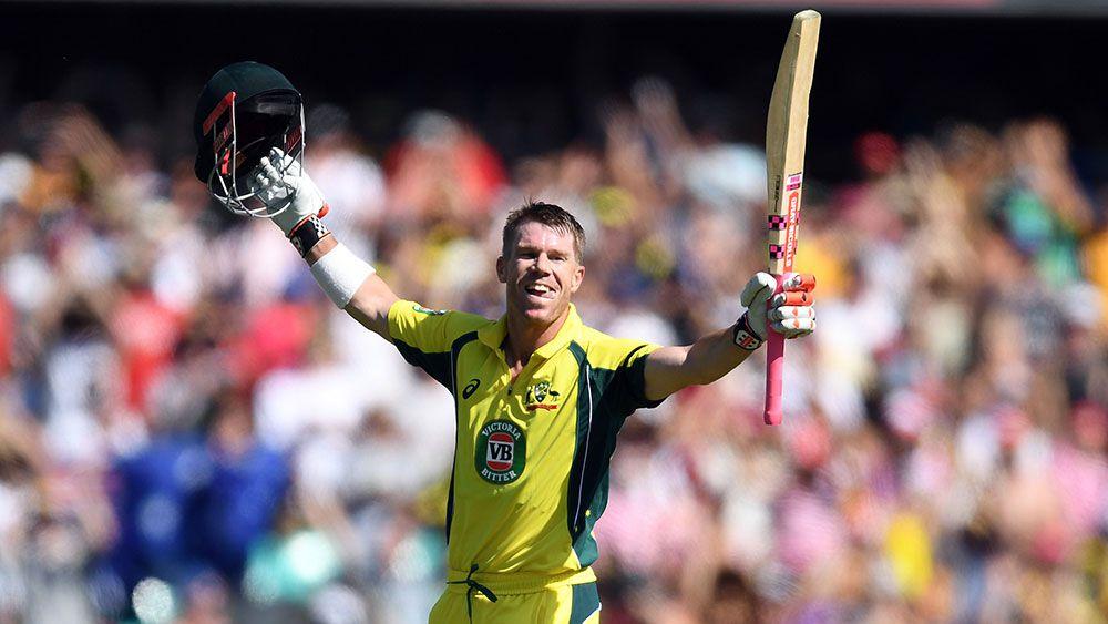 <strong>Australia - David Warner</strong>