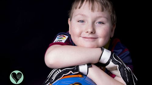 Tomos was born with Spina Bifida Myelomeningocele. Nine out of 10 mothers choose to end their pregnancies at 20 weeks when the defect is diagnosed, so there are not many children living with the condition. Tomos loves playing Fifa with his older brother and baking with his mum. (Rare Project)