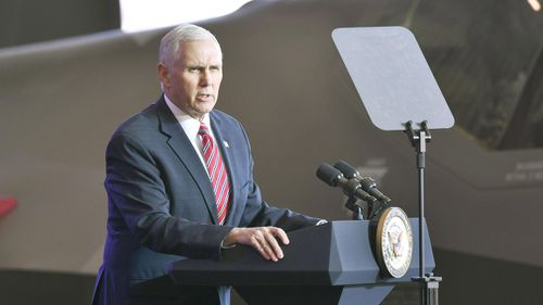 Vice President Mike Pence will be representing the US among the world leaders. (AAP)