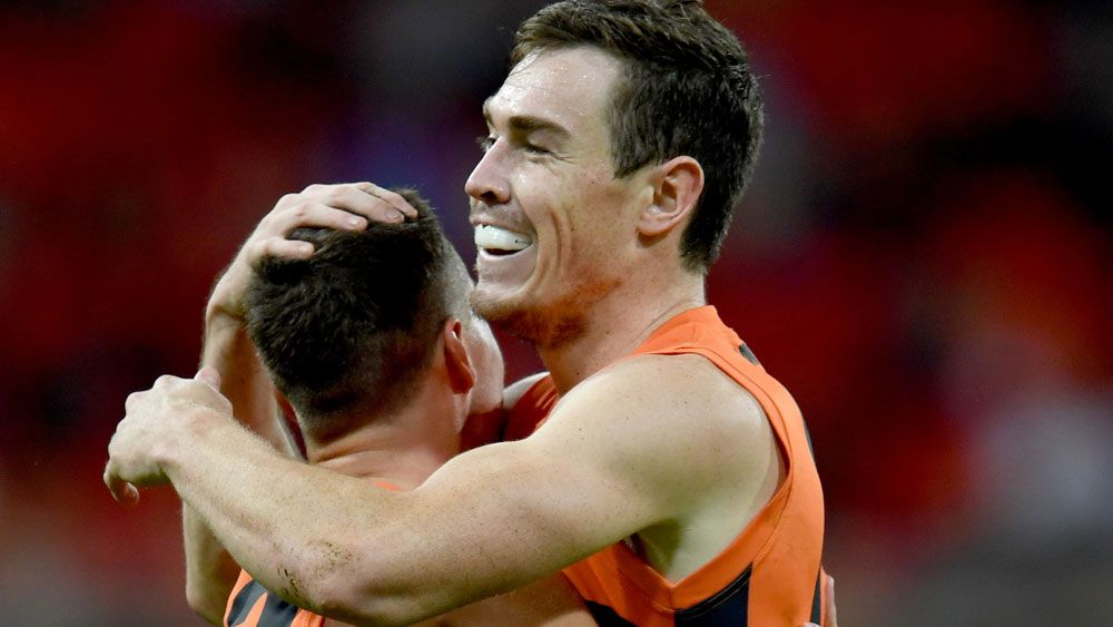 Giants thrash Suns by 91 points in AFL