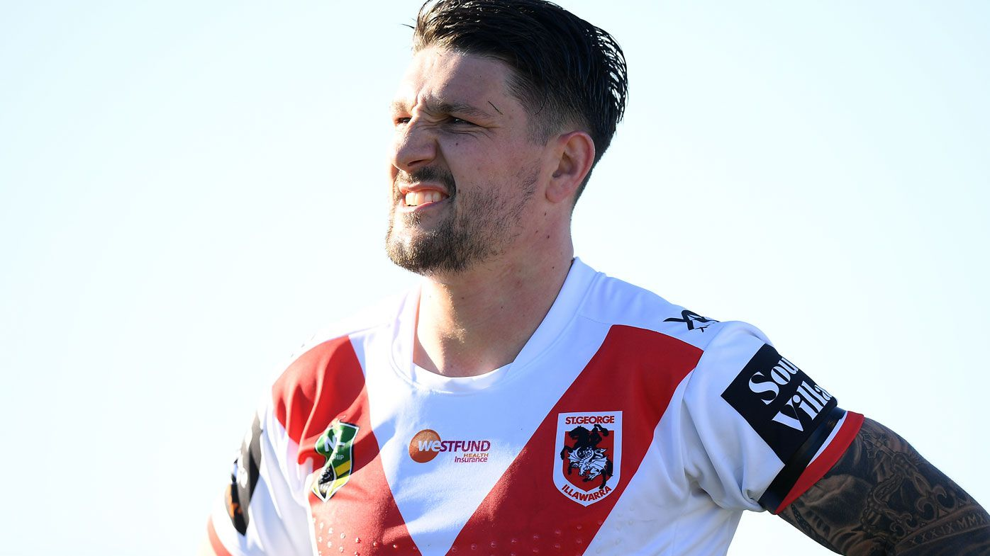 NRL: Gareth Widdop to remain at St George Illawarra Dragons in 2019