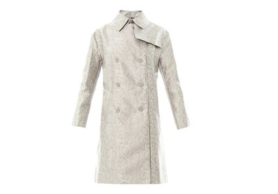 "<a href=""http://www.matchesfashion.com/au/products/176410"" target=""_blank"">Trench, $552, Richard Nicoll at MatchesFashion.com</a>"