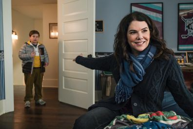 Lauren Graham stars in the new Mighty Ducks: Game Changers TV series on Disney Plus.