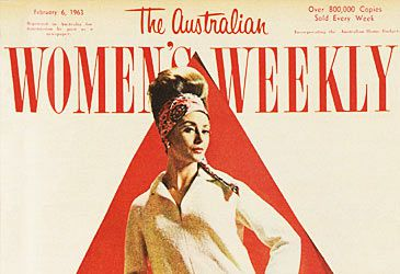 Daily Quiz: Who founded the Australian Women's Weekly?