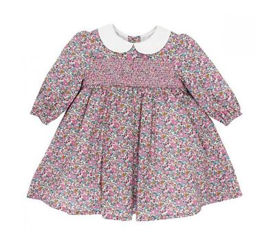 "<a href=""https://www.minihaha.com.au/liberty-ls-dress-w-collar"" target=""_blank"" title=""BÉBÉ, Liberty Dresswith Collar"" draggable=""false"">BÉBÉ, Liberty Dress with Collar</a>, $89.95<br />"