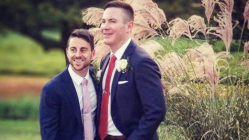 Stephen Heasley and Andrew Borg filed a lawsuit in federal court in Boston last month, accusing the company of attacking them because they are gay by replacing their programs with the religious pamphlets (Facebook).