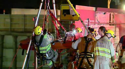 One woman is in a serious condition in hospital. (9NEWS)