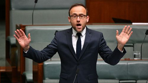Greens MP Adam Bandt moved the motion against Mr Dutton.