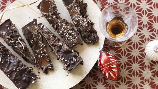 Kids' Christmas rocky road