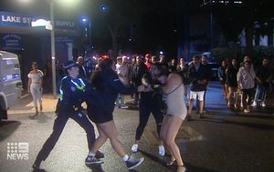 Eleven charged over mass brawl outside Perth club during police blitz