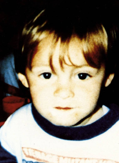 James Bulger was murdered just weeks before his third birthday in 1993.