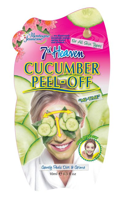 "<a href=""http://"">7th Heaven Cucumber Peel Off Masque, $4.99</a>."