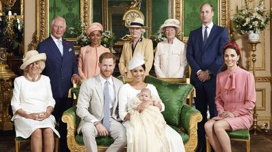 Archie Christening Prince Harry Meghan Markle Archie Harrison Mountbatten-Windsor 2