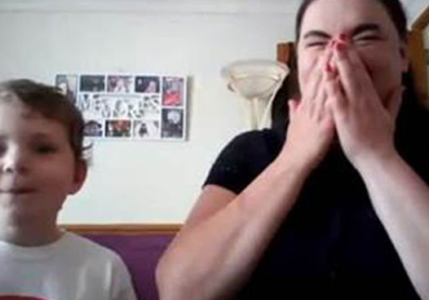 Mother and son surprised by call from Prince William