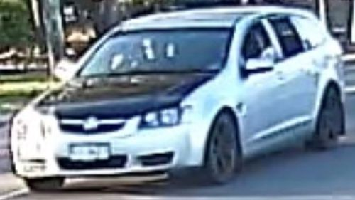 Silver Holden Commodore linked to Ipswich shooting murder