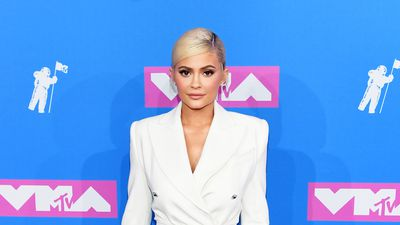 Kylie Jenner looks white hot on red carpet