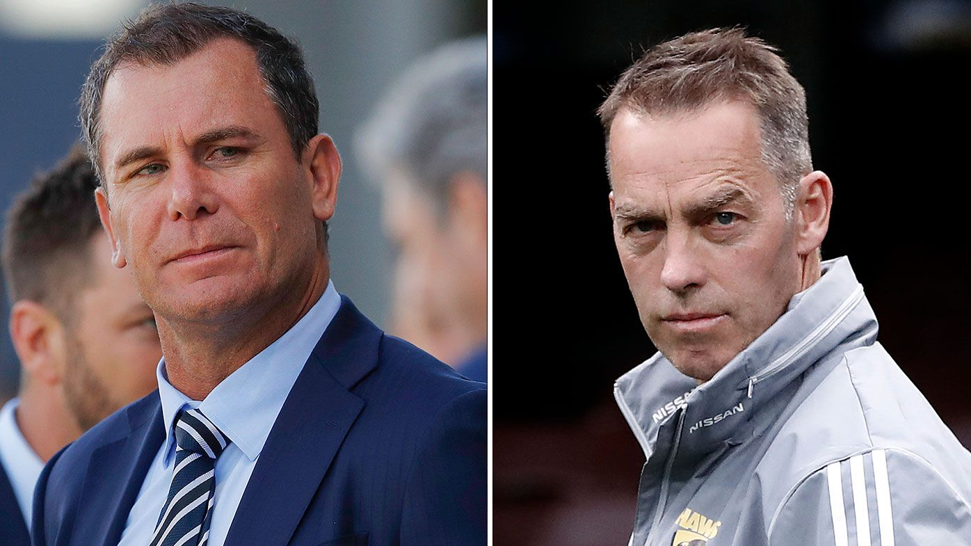 Wayne Carey, Alastair Clarkson