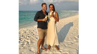 Jayne Azzopardi and Trent Butler honeymoon in the Maldives