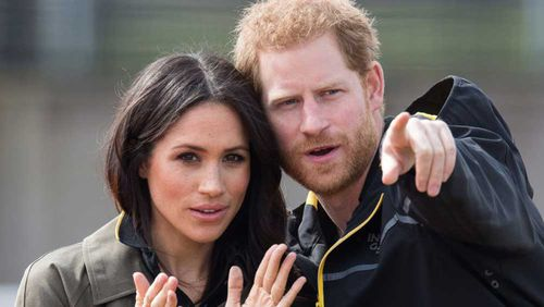 Harry and Meghan will wed next month. (AAP)