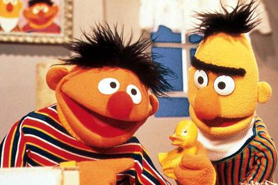 Sometimes, the greatest TV bromances are born from humble beginnings. In this case: a fruitbowl. Bert was based on a banana and Ernie was an orange. These — pun intended — fruity roommates have been inseparable since they first appeared in the <i>Sesame Street</i> pilot in 1969.