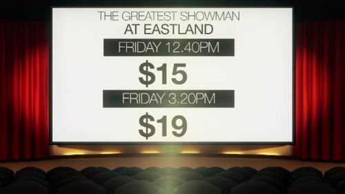 Price hikes affected Hoyts Cinemas as well. (9NEWS)