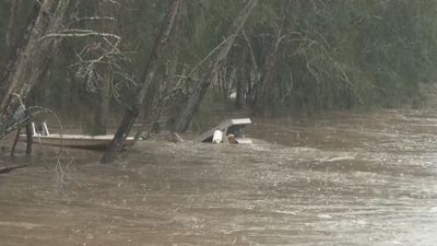 Flooding at Sanctuary Point on the NSW South Coast