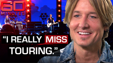 Keith Urban tells 60 Minutes his funniest ever on stage moment
