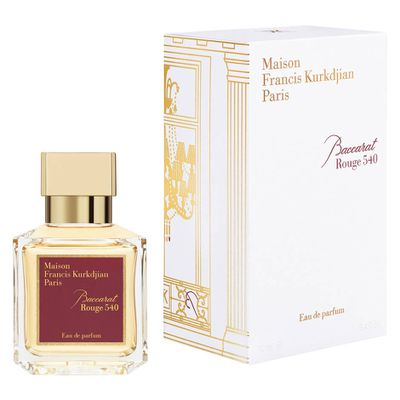 "<p><a href=""http://mecca.com.au/maison-francis-kurkdjian/baccarat-rouge-540-edp/I-023388.html"" target=""_blank"">Maison Francis Kurkdjian Baccarat Rouge 540 EDP, $300.00.</a></p> <p>A collaboration between Maison Francis Kurkdjian and Maison Baccarat, this perfume of amber and woody floral tones is heaven sent. Or is that scent?</p>"