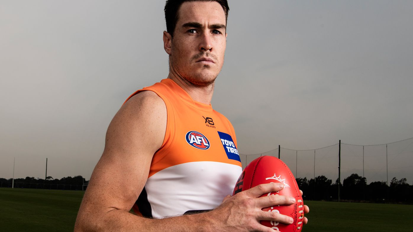 GWS Giants captain Jeremy Cameron