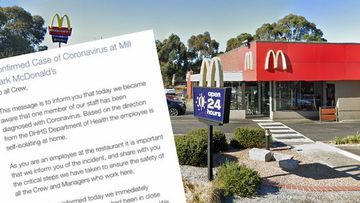 A McDonalds in Mill Park has been shut down after a staff member tested positive to COVID-19.