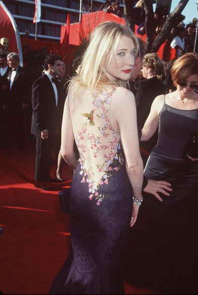 <p>Cate Blanchett at the 71st Annual Academy Awards</p>