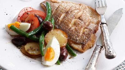 <strong>Grilled snapper nicoise</strong>