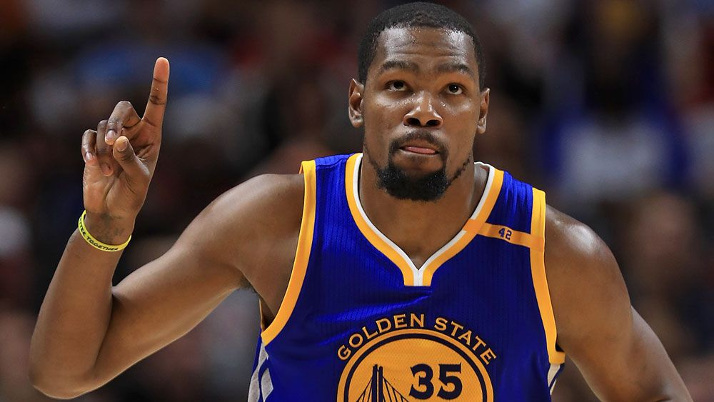 Kevin Durant has answer as OKC fans boo - Nine Wide World of Sports ... 395e05075