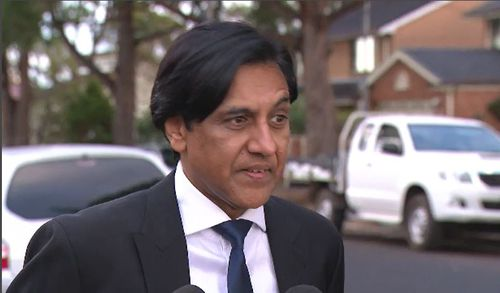 The car owner, Raj, has warned others from selling their vehicles online, because he fears the offender now knows where he lives. Picture: 9NEWS.