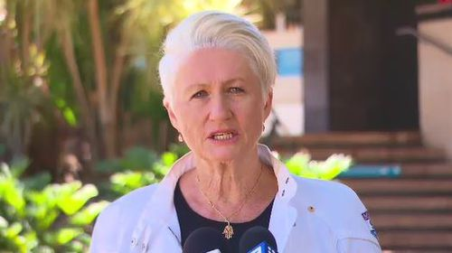 Federal member for Wentworth, Kerryn Phelps.