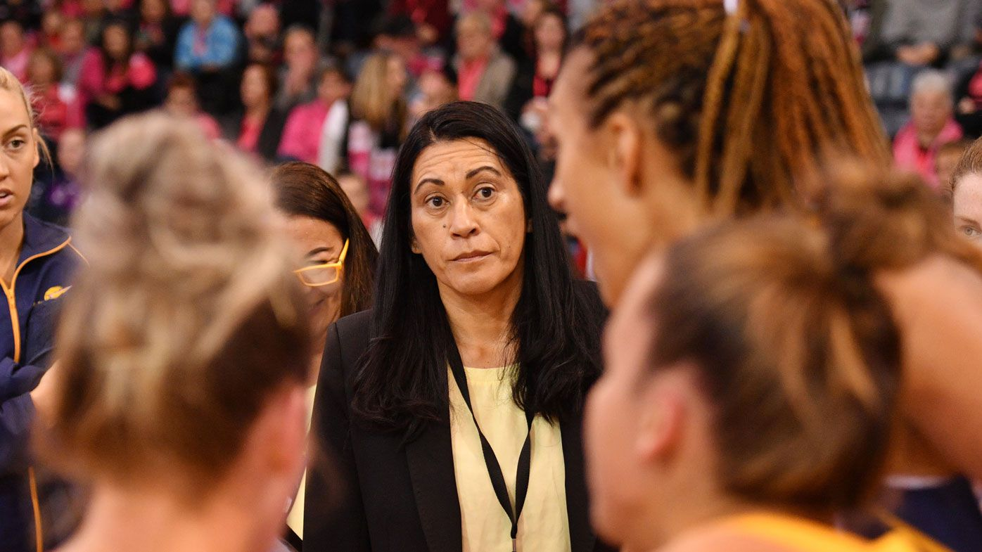 West Coast Fever scared of Sunshine Coast Lightning, says coach Noeline Taurua