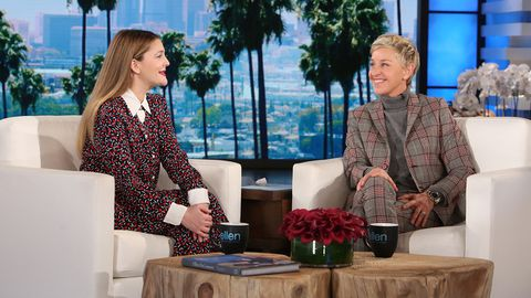 Drew Barrymore opens up about co-parenting with her ex