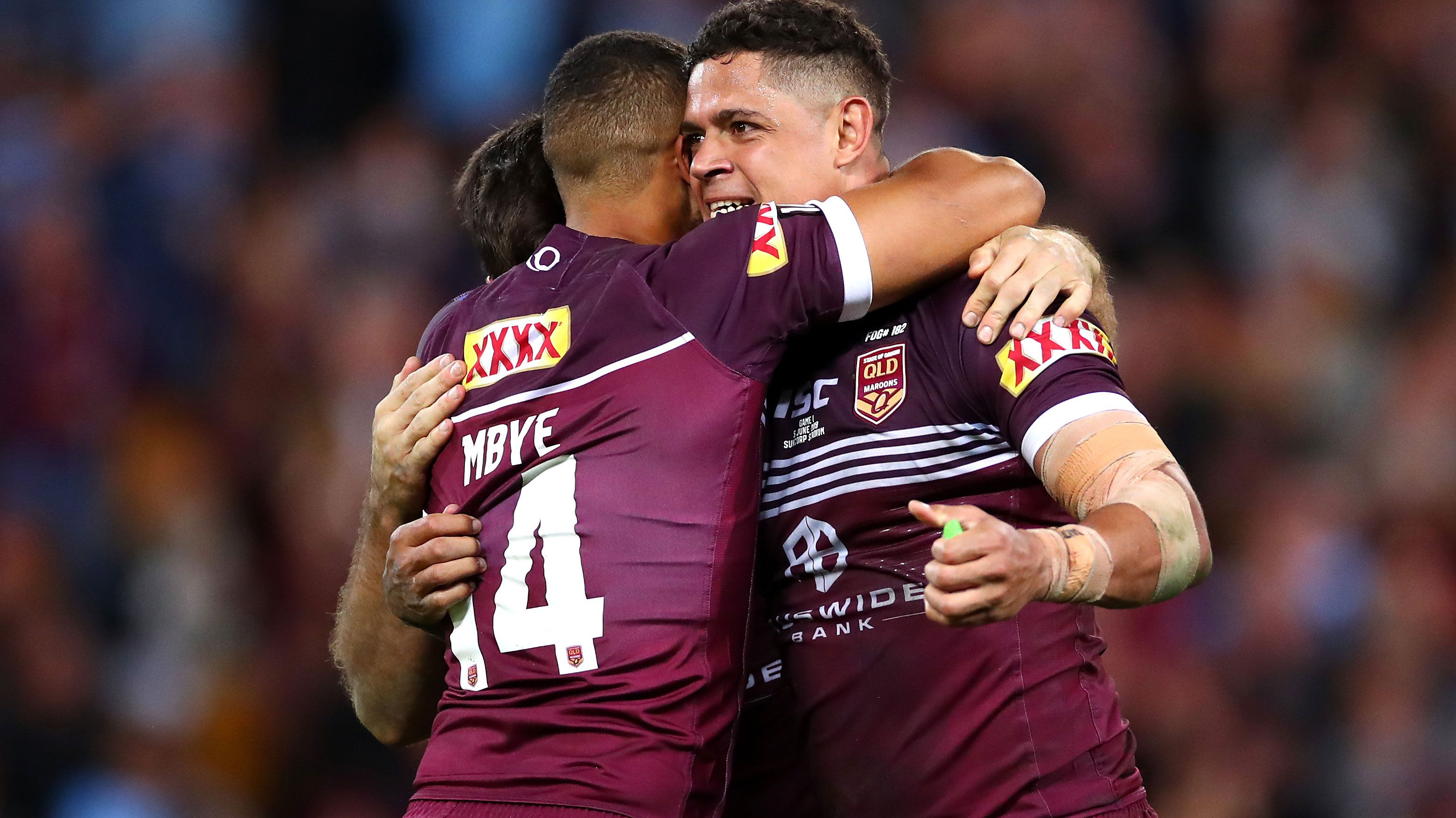 Dane Gagai wins man of the match in State of Origin I