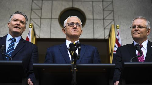 If Mr Turnbull has lost the party room's support, then his leadership will collapse.