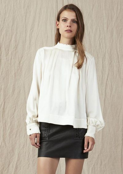 """<a href=""""https://a-j-e.com.au/collections/tops/products/aje-ivory-silk-eugenie-blouse?variant=41556947210"""" target=""""_blank"""">Aje</a> Eugenie blouse $295<br />"""